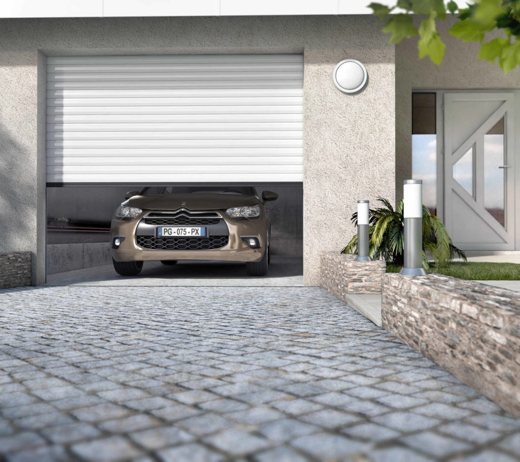 porte de garage PX75 vue exterieure Citroen